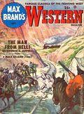 Max Brand's Western Magazine (1949-1954 Popular Publications) Pulp Vol. 6 #2