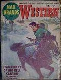Max Brand's Western Magazine (1949-1954 Popular Publications) Pulp Vol. 7 #1