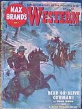 Max Brand's Western Magazine (1949-1954 Popular Publications) Vol. 7 #2