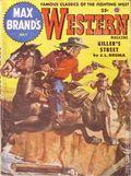 Max Brand's Western Magazine (1949-1954 Popular Publications) Pulp Vol. 8 #4