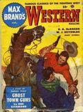 Max Brand's Western Magazine (1949-1954 Popular Publications) Pulp Vol. 9 #1
