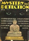 Mystery and Detection (1934-1935 World's Work) Pulp Vol. 1 #1