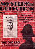 Mystery and Detection (1934-1935 World's Work) Pulp Vol. 1 #4