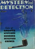 Mystery and Detection (1934-1935 World's Work) Pulp Vol. 1 #5