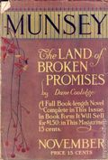 Munsey's Magazine (1889-1929 Frank A. Munsey) Pulp Vol. 50 #2