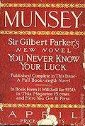Munsey's Magazine (1889-1929 Frank A. Munsey) Pulp Vol. 51 #3