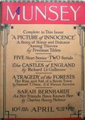 Munsey's Magazine (1889-1929 Frank A. Munsey) Pulp Vol. 60 #3