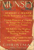 Munsey's Magazine (1889-1929 Frank A. Munsey) Pulp Vol. 68 #3