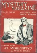 Mystery Magazine (1917-1927 Tousey/Wolff) Pulp 1st Series Vol. 4 #96
