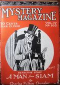 Mystery Magazine (1917-1927 Tousey/Wolff) Pulp 1st Series Vol. 5 #105