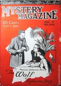 Mystery Magazine (1917-1927 Tousey/Wolff) Pulp 1st Series Vol. 5 #108