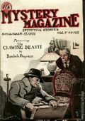 Mystery Magazine (1917-1927 Tousey/Wolff) Pulp 1st Series Vol. 5 #122