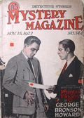 Mystery Magazine (1917-1927 Tousey/Wolff) Pulp 1st Series Vol. 6 #144