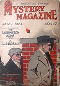 Mystery Magazine (1917-1927 Tousey/Wolff) Pulp 1st Series Vol. 6 #147