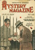 Mystery Magazine (1917-1927 Tousey/Wolff) Pulp 1st Series Vol. 6 #148