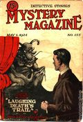 Mystery Magazine (1917-1927 Tousey/Wolff) Pulp 1st Series Vol. 6 #155