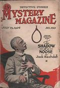 Mystery Magazine (1917-1927 Tousey/Wolff) Pulp 1st Series Vol. 7 #160