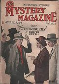 Mystery Magazine (1917-1927 Tousey/Wolff) Pulp 1st Series Vol. 7 #162