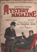 Mystery Magazine (1917-1927 Tousey/Wolff) Pulp 1st Series Vol. 7 #164