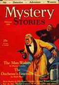 Mystery Stories (1927-1929 Priscilla) Pulp Vol. 17 #2