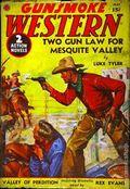 Gunsmoke Western (1937-1939 Trojan Publishing) Pulp 1st Series Vol. 1 #6