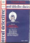 Great Detective (1933-1934 L.M. Publishing) Pulp Vol. 1 #2