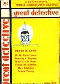 Great Detective (1933-1934 L.M. Publishing) Pulp Vol. 2 #1