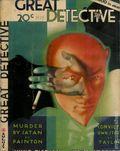 Great Detective (1933-1934 L.M. Publishing) Pulp Vol. 4 #2