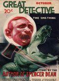 Great Detective (1933-1934 L.M. Publishing) Pulp Vol. 4 #4