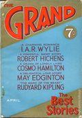 Grand Magazine (1905-1940 Newnes) Pulp Vol. 67 #362
