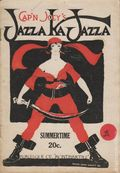 Cap'n Joey's Jazza-ka-Jazza (1922 Burten Publications) Pulp Vol. 1 #5