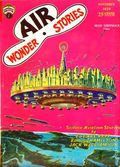 Air Wonder Stories (1929-1930 Stellar) Pulp Vol. 1 #5