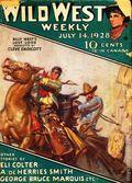 Wild West Weekly (1927-1943 Street & Smith) Pulp Vol. 34 #1