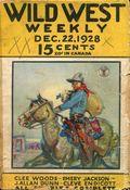 Wild West Weekly (1927-1943 Street & Smith) Pulp Vol. 37 #6