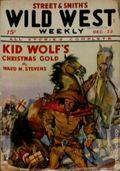 Wild West Weekly (1927-1943 Street & Smith) Pulp Vol. 90 #1