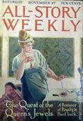 All-Story Weekly (1905-1920 Frank A. Munsey) Pulp Vol. 52 #1