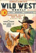 Wild West Weekly (1927-1943 Street & Smith) Pulp Vol. 109 #4