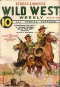 Wild West Weekly (1927-1943 Street & Smith) Pulp Vol. 109 #5