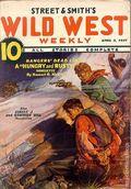 Wild West Weekly (1927-1943 Street & Smith) Pulp Vol. 109 #6