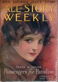 All-Story Weekly (1905-1920 Frank A. Munsey) Pulp Vol. 73 #1