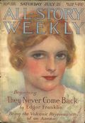 All-Story Weekly (1905-1920 Frank A. Munsey) Pulp Vol. 73 #3