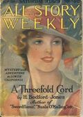 All-Story Weekly (1905-1920 Frank A. Munsey) Pulp Vol. 87 #1