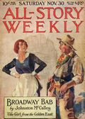 All-Story Weekly (1905-1920 Frank A. Munsey) Pulp Vol. 91 #2