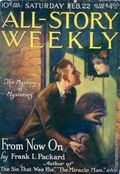 All-Story Weekly (1905-1920 Frank A. Munsey) Pulp Vol. 94 #2