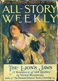 All-Story Weekly (1905-1920 Frank A. Munsey) Pulp Vol. 95 #3