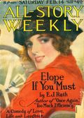 All-Story Weekly (1905-1920 Frank A. Munsey) Pulp Vol. 107 #1