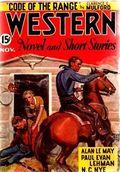 Western Novel and Short Stories (1934-1957 Newsstand-Stadium) Pulp Vol. 4 #1