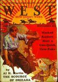 West (1926-1953 Doubleday) Pulp Vol. 18 #3