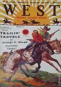 West (1926-1953 Doubleday) Pulp Vol. 20 #3
