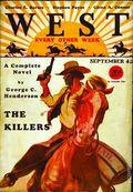 West (1926-1953 Doubleday) Pulp Vol. 21 #6